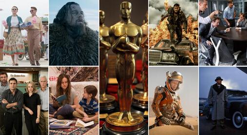 Transcode Oscars 2016 Best Picture Moives to MP4/MKV/AVI/WMV
