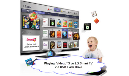 Getting Video_TS Folder on LG Smart TV for Smoothly Playback