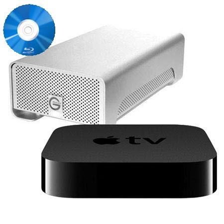 Rip Blu-ray to RAID external drive for ATV 3 Streaming