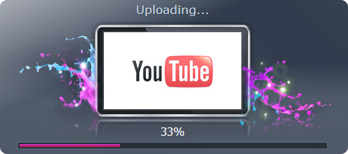 uploading a video to youtube