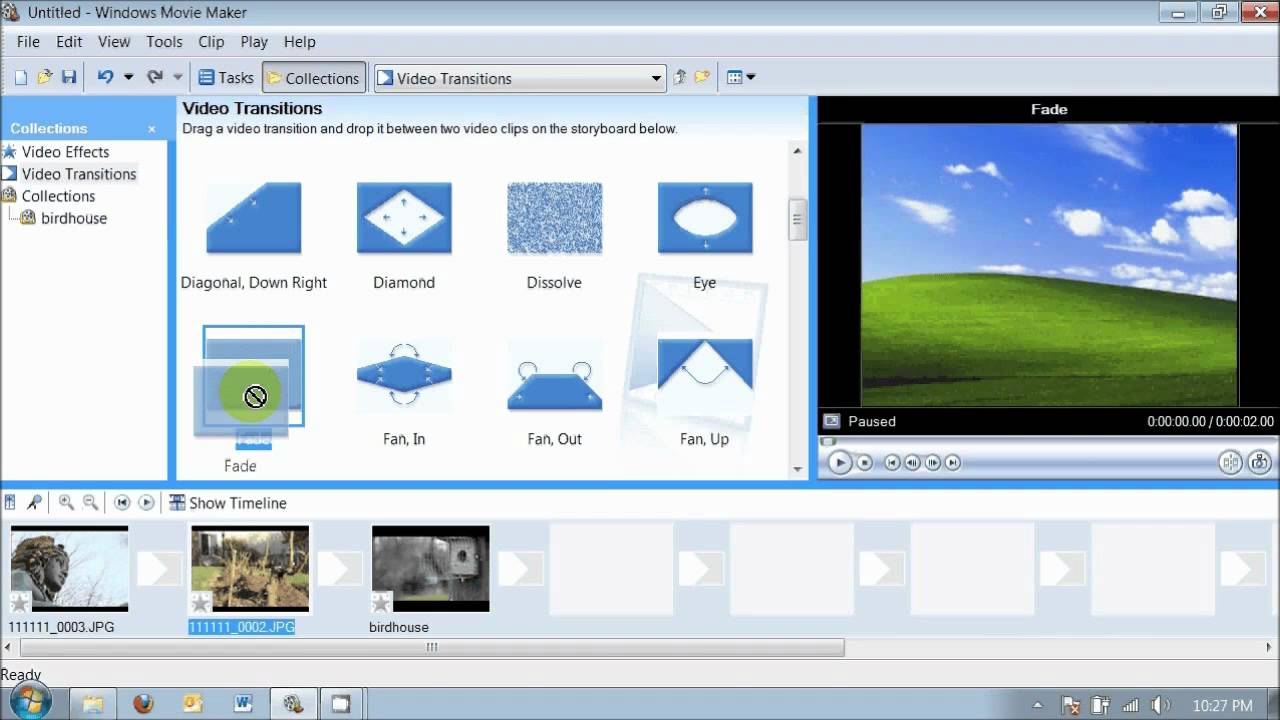 Edit Video Clip on Blu-ray with Windows Movie Maker