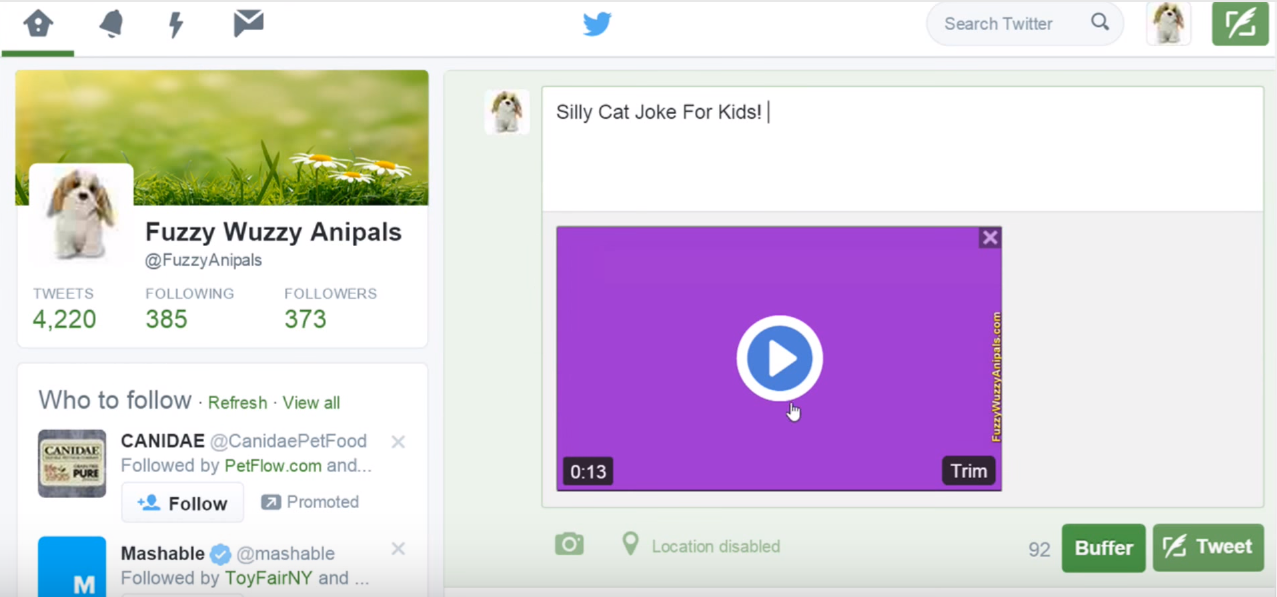 How to Upload Video to Twitter?