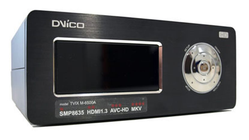 How to play DVD on DVICO TViX HD M-6500A