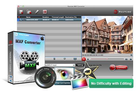 Canon mxf video converter for mac