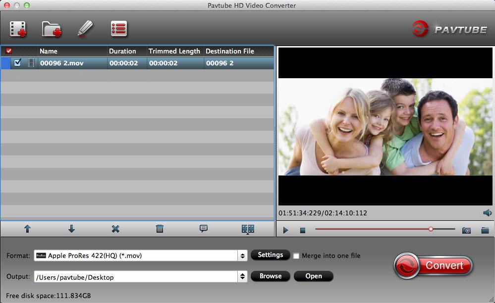 Pavtube HD Video Converter for Mac - An all-round Mac HD